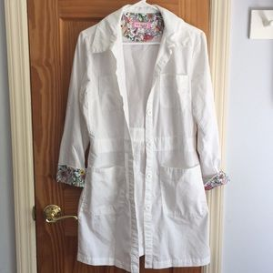 koi Kathy Peterson medical coat